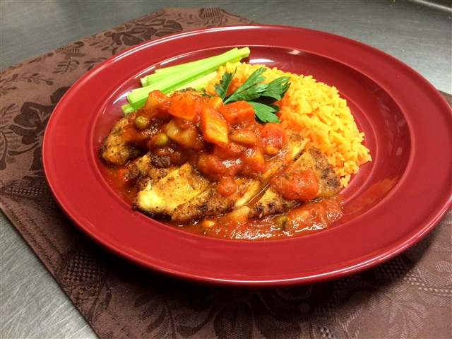 Chicken Cacciatore,